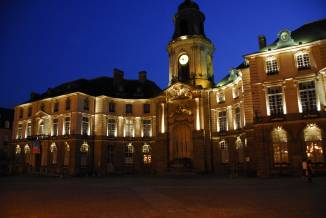 The City Hall of Rennes