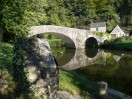 An old bridge near Dinan